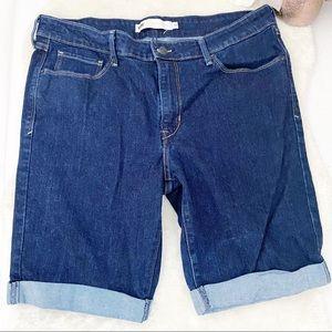 5/$30 Item Levi's Bermuda Rolled Hem Denim Shirts